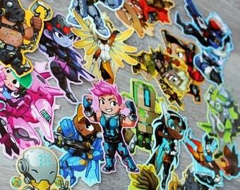 Overwatch Stickers Part2