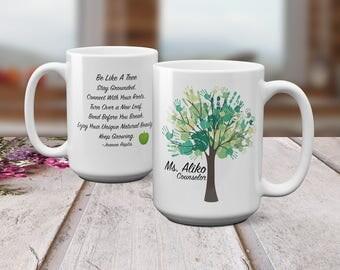 School Counselor Mug - Personalized Mug - School Counselor- School Counselor Gifts - Teacher Appreciation - 15oz Mug - Gift for Counselor