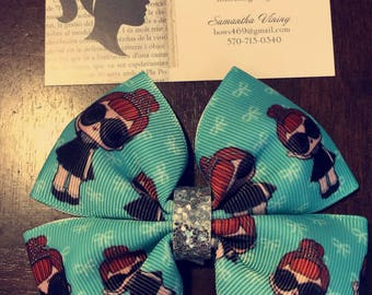 It baby hair bow / Lol surprise doll hair bow!