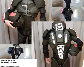 Mass effect cosplay armor of (foam, hand work)