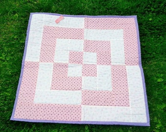 baby quilt, crib quilt or comfort quilt for toddler