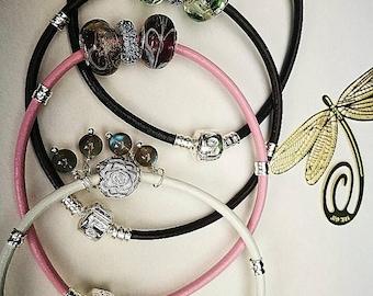Pandora type handmade bracelet