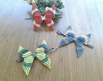 Forks in macrame Butterfly