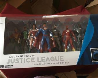 DC Collectibles Justice League 7 Pack Action Figure