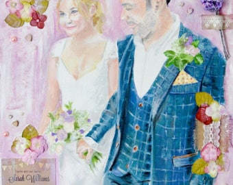Custom Paintings: Weddings & Special Occasions