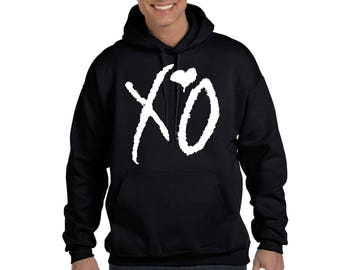 The Weeknd XO Hoodie Sweatshirt XO Tour OVOXO Weeknd Hooded Sweatshirt