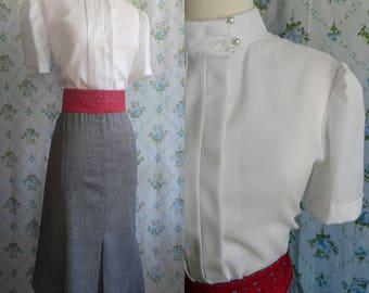 1980s does 1940s secretary dress