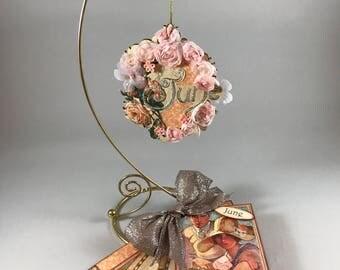June Ornament & Brag Book