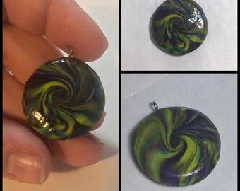 Swirl Lentil Beads