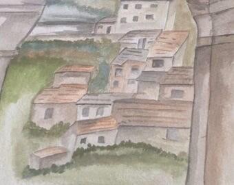 Mediteranian village