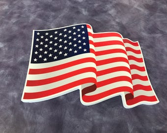 Indoor/Outdoor Waving Flag Plaque