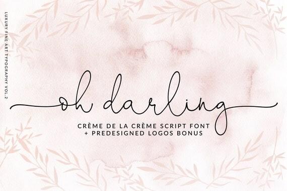 Calligraphy font modern digital fonts