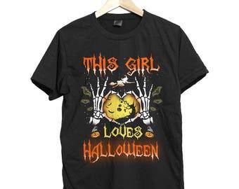 Halloween Shirt Halloween Costume Witch Shirt Halloween