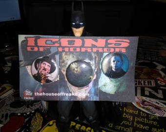 Icons of Horror Button set
