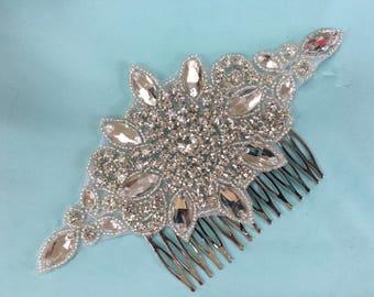 Bridal Rhinestone Comb, Formal Attire, Bridal Comb, Rhinestone Comb, Wedding Attire