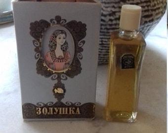 Vintage 1978 s Rare collectible USSR perfume Cinderella