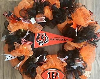 Cincinnati Bengals  LED Wreath