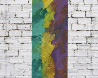 Original Abstract Colorful Soft Dreamy Cosmic Painting
