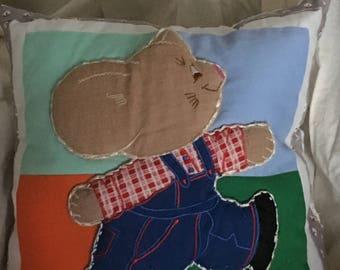 Stitched Animal Pillow