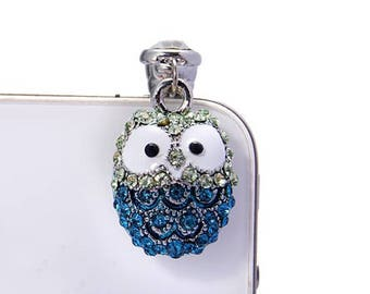 Owl Dust Plug Cell Phone Accessories