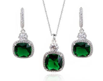 EMERALD DROP SET