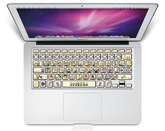 Keyboard Stickers Minions Despicable Me Decoration Protector Decal Skin Macbooks