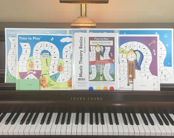 Time to Play Music Theory Game: Learn to identify notes/rests and their time values