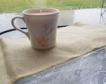 Potpourri Mug Candle