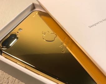 iPhone 7 Plus 24K Gold Plated Color   Limited Edition