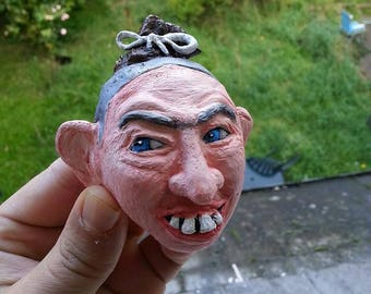 Pepper - American Horror Story clay head