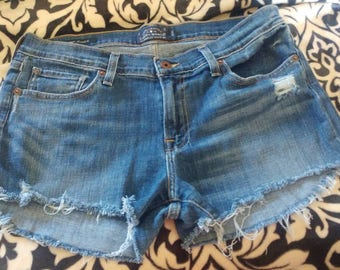 Distressed Lucky brand shorts, handmade, cutoff.. Womens