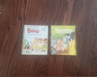 Little Golden Books, various titles