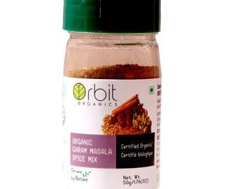 Certified Organic Garam Masala 50g