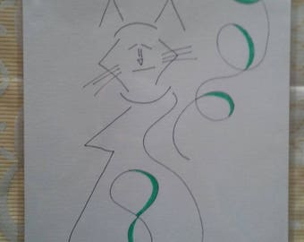 Whirling cat