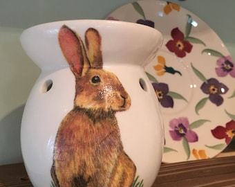 Cute Bunny Wax melt/oil burner