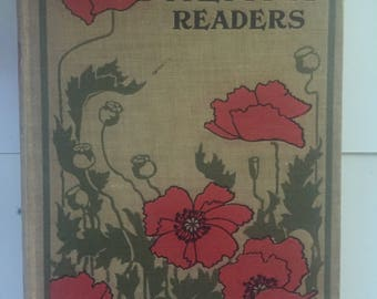 Vintage Decorative Book 'Heath Readers'