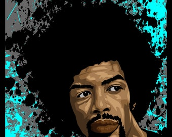 Gil Scott-Heron (The Revolution will Not Be Televised, It Will Be DRAWN!!!)