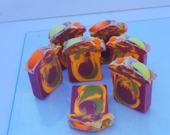 Cranberry Citrus Artisan Cold Processed Soap