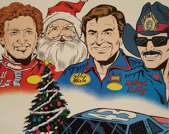 Legends of Nascar Christmas Special issue 1 Vortex comics