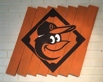 """Orioles 30"""" x 25"""""""