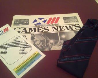 Commonwealth Games, Edinburgh 1986 memorabilia