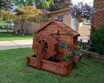 Cedar Working Water Wheel