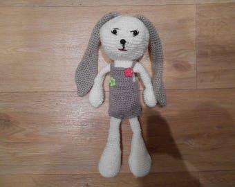 Amigurumi toy crocheted 27cm