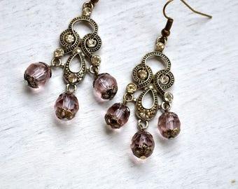 """""""VICTORIAN STYLE"""" earrings"""