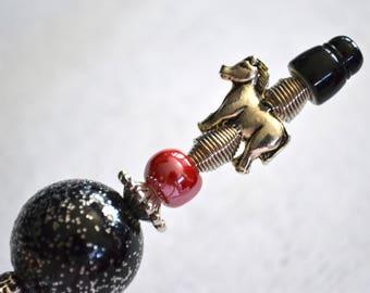 Pen - horse bead jewelry