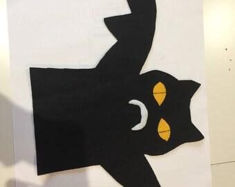 Bat hand puppet