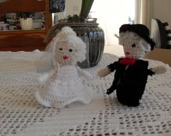 married couple handmade crochet