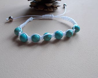 turquoise shamballa bracelet