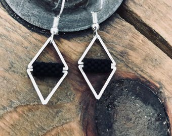 •LYA • Silver earrings