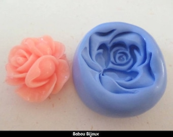 New! Mold to create your large and amazing rose 3.5 cm